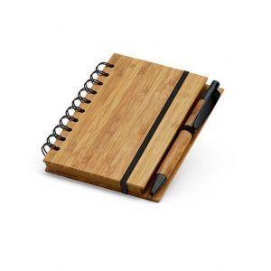 Bloc notas bambú