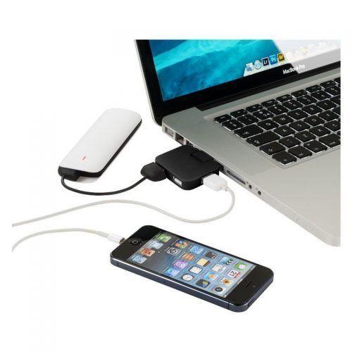 Hub USB de 4 Puertos