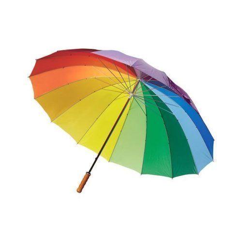 Paraguas multicolor