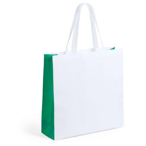 Bolsa Biodegradable Blanca contrastada