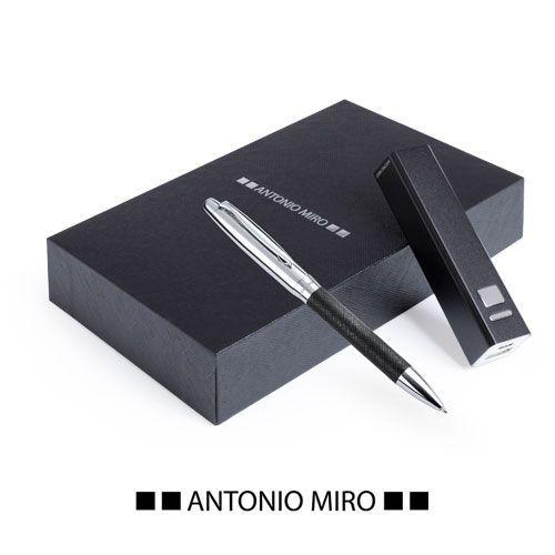 Set Regalo Antonio Miró Bolígrafo y Batería