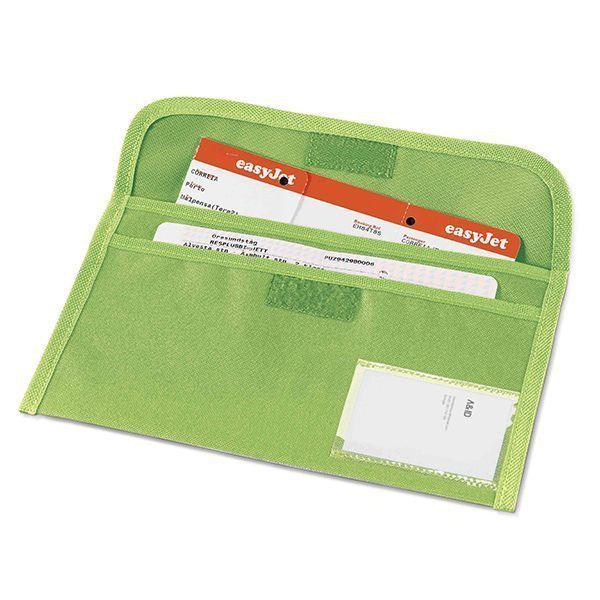 Porta Documentos Viaje con cierre de velcro