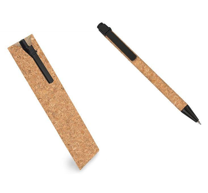 Bolígrafo con funda