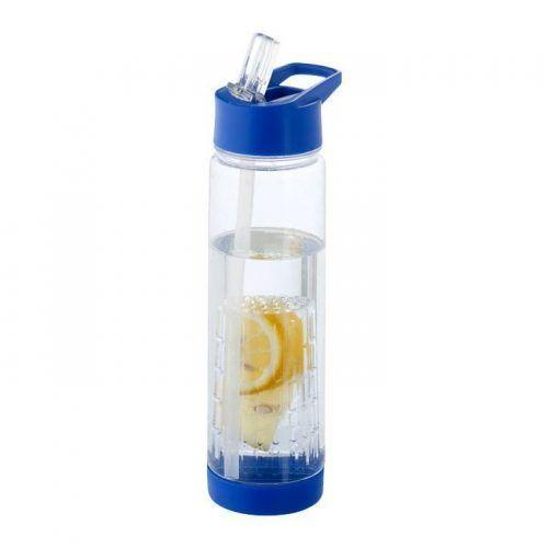 Botella con infusor para dar sabor al agua que bebes.