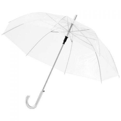"""Paraguas automático transparente 23"""", blanco transparente"""
