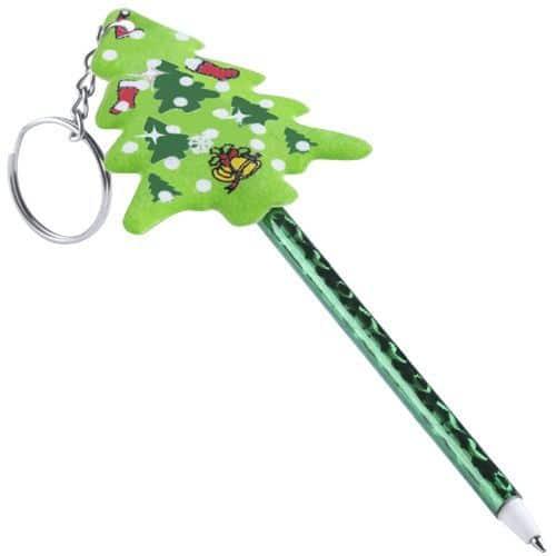 Llavero y Bolígrafo de Navidad