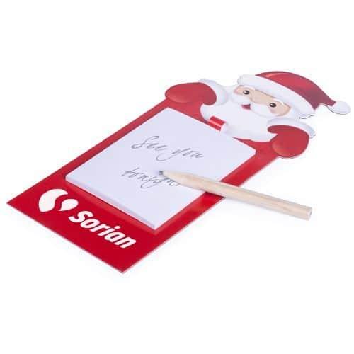 Imán Navidad con Bloc de notas