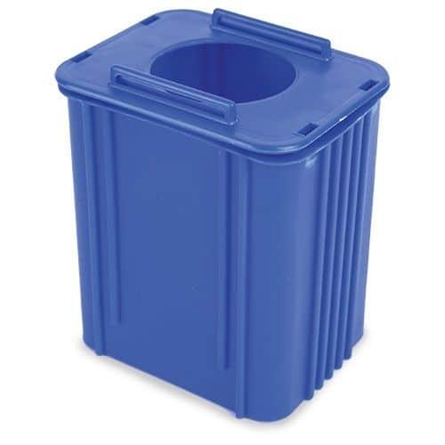 Portalápices Cubo Reciclaje Cartón