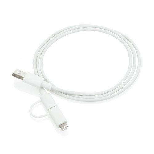 Cable 2 en 1 MFI y Micro Usb