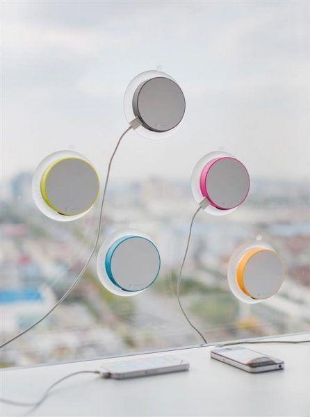 Cargador Solar Ventana merchandising regalo promocional y de empresa ecológico