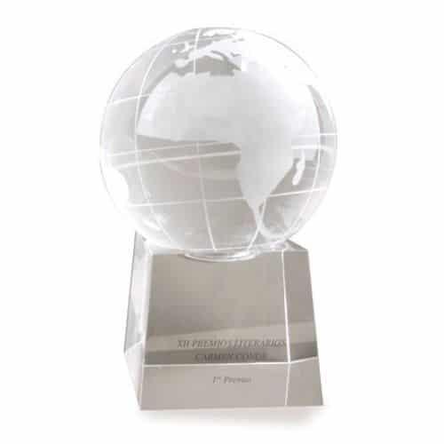 Trofeo bola del mundo.