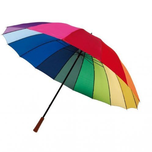 Paraguas Golf arco iris.