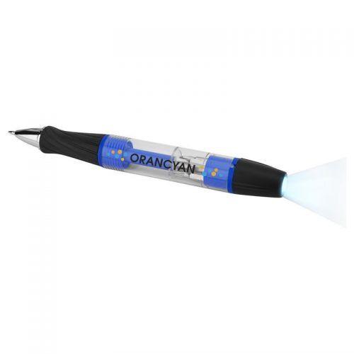 Bolígrafo y set de herramientas con luz.