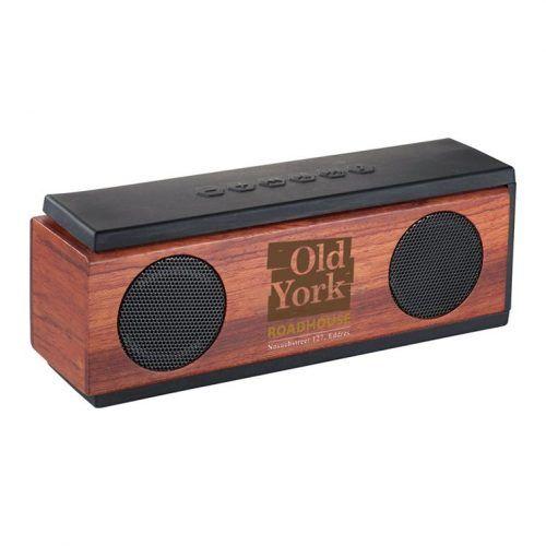 Altavoz Bluetooth® de madera