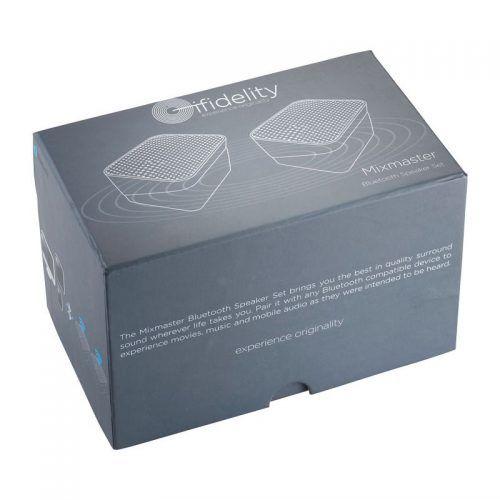 Set de dos altavoces Bluetooth