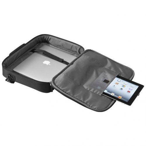 "Maletín Case Logic para portátil de 15,6"" y iPad."