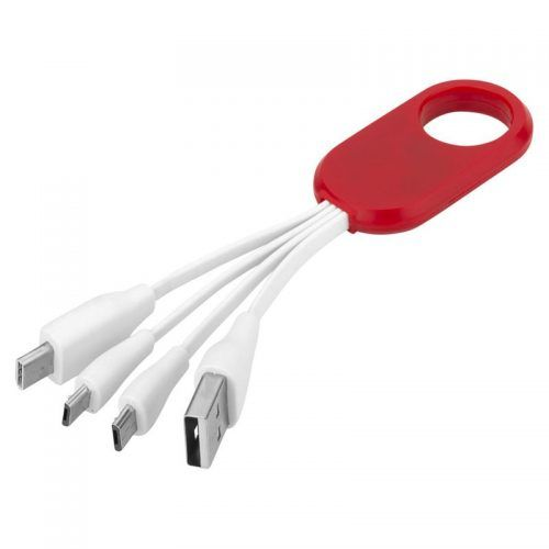 Cable de carga 4 en 1 Tipo-C.