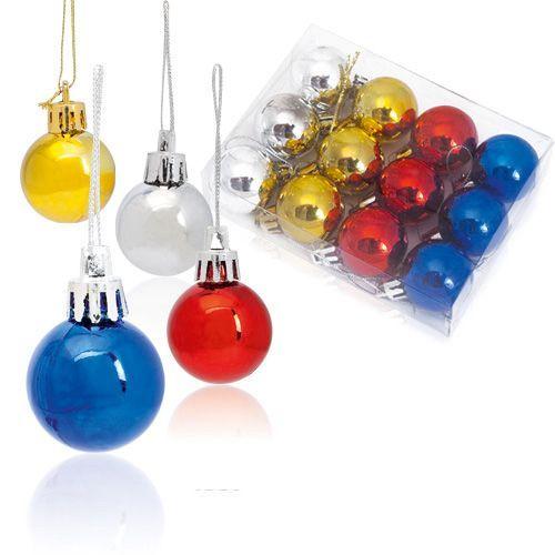 Set 12 bolas de Navidad.