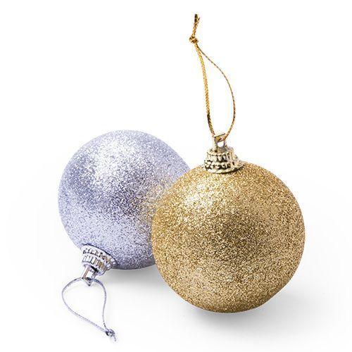Set 6 bolas de Navidad.