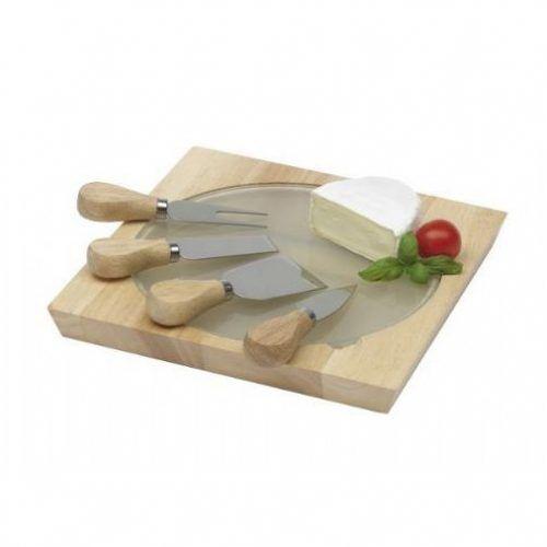 Set Tabla y Cuchillos Queso