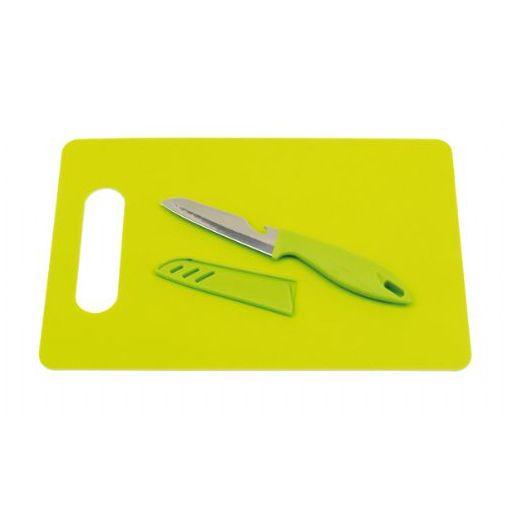 Set Tabla y Cuchillo con funda