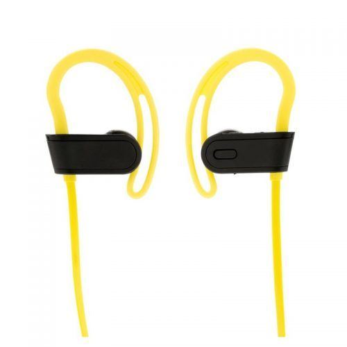 Auriculares inalámbricos deportivos.