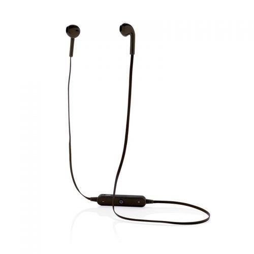 Auriculares inalámbricos con estuche.
