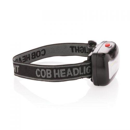 Linterna de cabeza COB.
