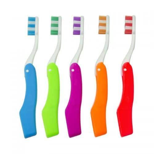 Cepillo de dientes plegable