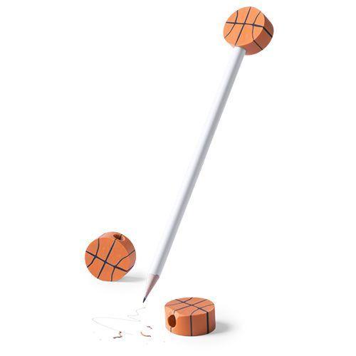 Lápiz y gomas deportivas