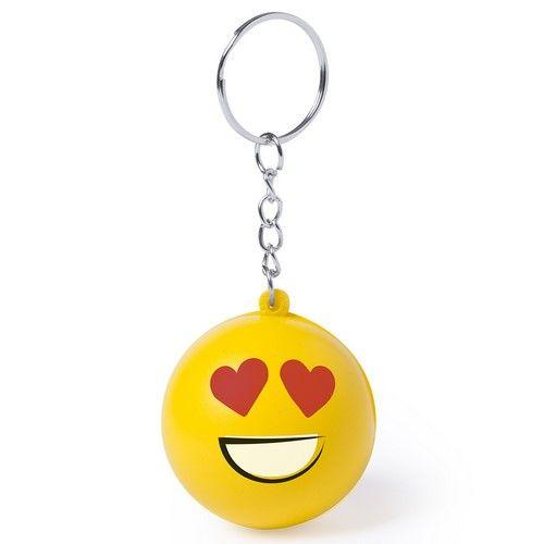 Llavero Emoticono Smiley Antiestrés