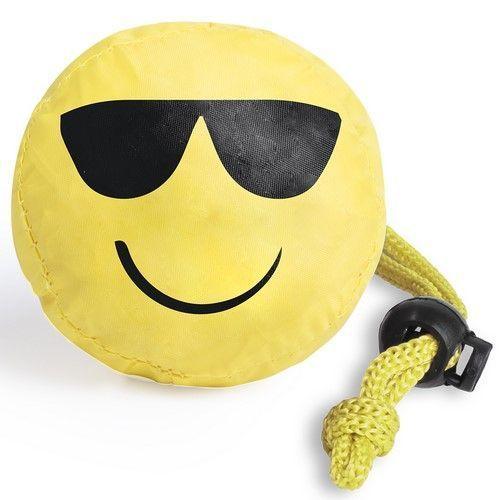 Bolsa Plegable Emoticono Smiley