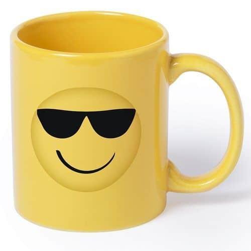 Taza Emoticono Smiley