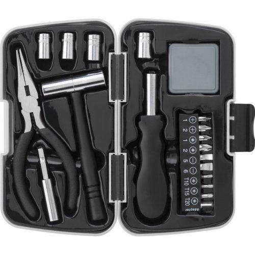 Caja con 26 herramientas.