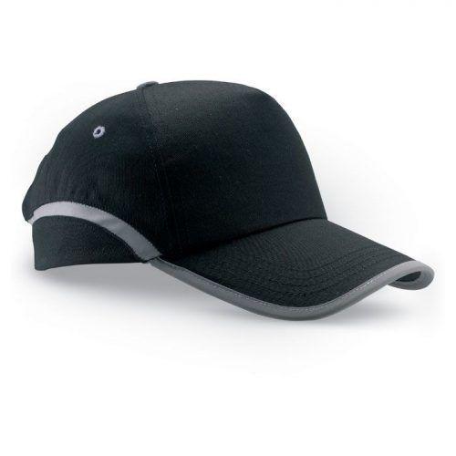 Gorra de béisbol de algodón.