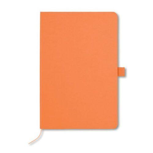 Libreta A5 con porta bolígrafos y bolsillos