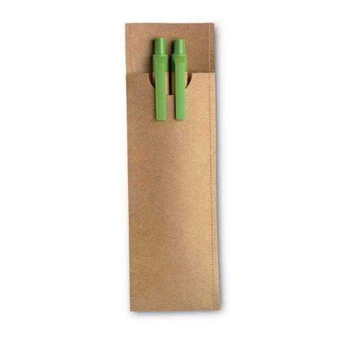 Set de lápiz y bolígrafo.