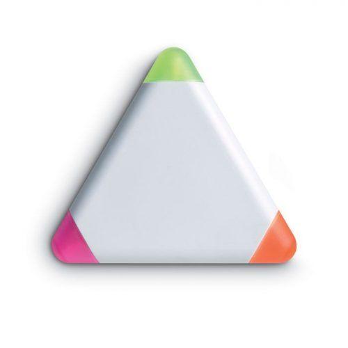 Marcador triangular.