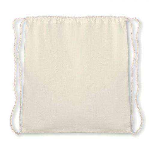 Mochila de algodón orgánico.