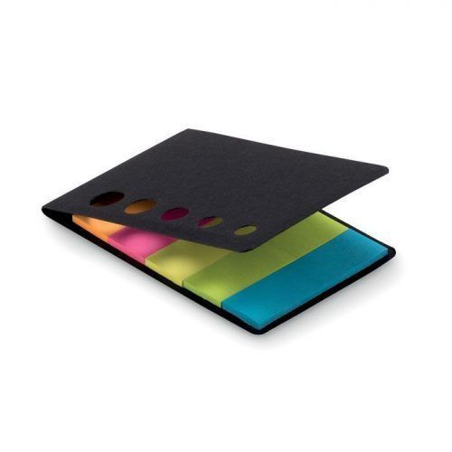 Notas adhesivas 5 colores.