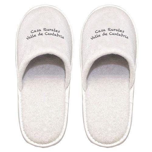 Zapatillas rizo algodón