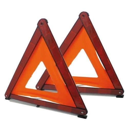 Triángulo emergencia 1 pieza.