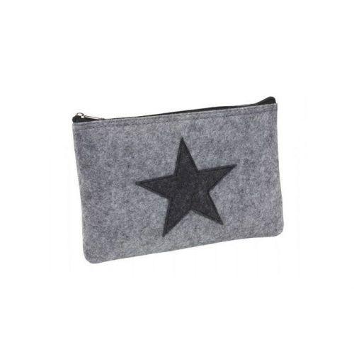 """Cartera """"Star Dust"""" , gris."""