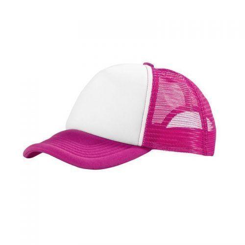 gorra rosa trucker personalizada