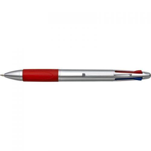 Bolígrafo 4 colores.