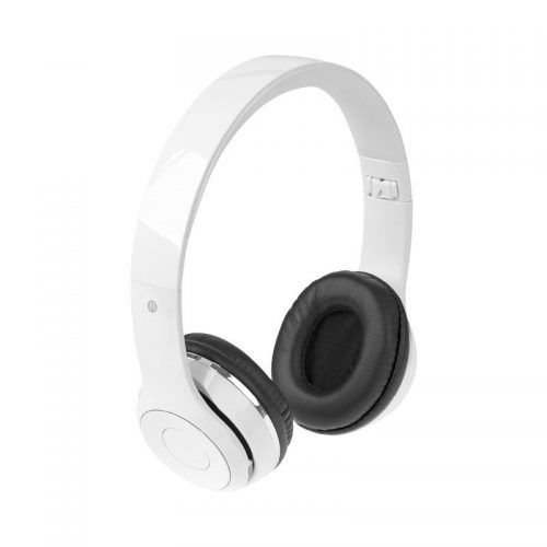 Auriculares plegables Bluetooth® con estuche  negro intenso.