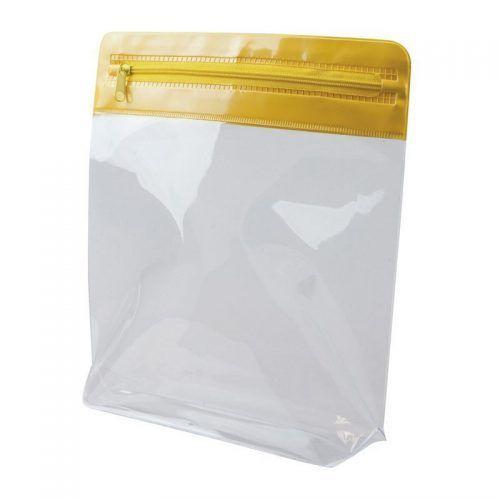 Neceser transparente cremallera