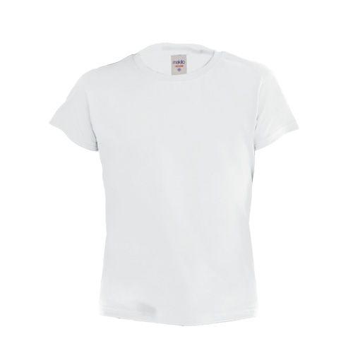 Camiseta Infantil Manga Corta Blanca