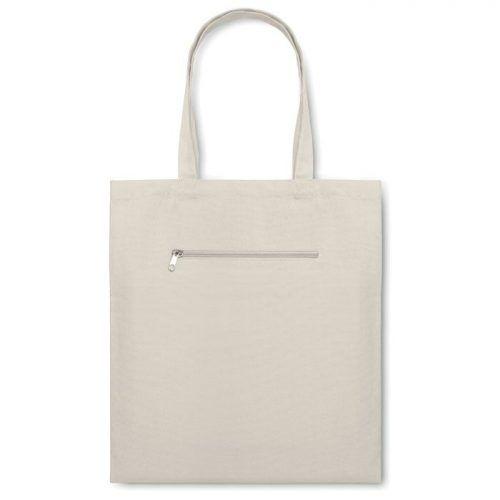Bolsa de compra en canvas