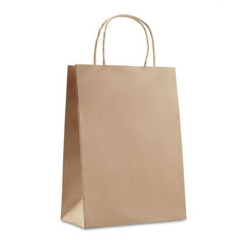 Bolsa de papel mediana